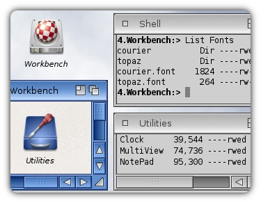 AmigaOS Truetype Fonts Support